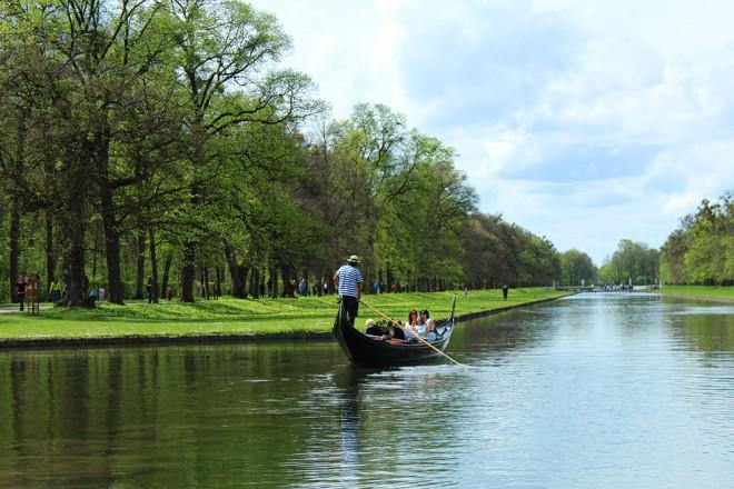 Gondola ride in Munich
