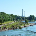 Isar river, Munich