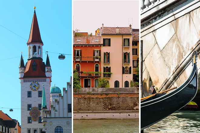 Munich Verona and Venice: 10 romantic one-week European itineraries