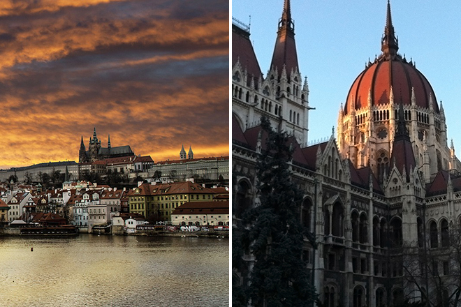 Prague and Budapest: 10 romantic one-week European itineraries