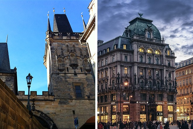 Prague and Vienna