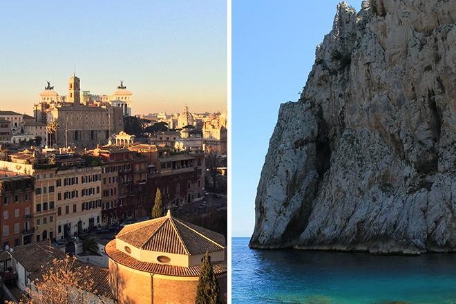 Rome and Capri