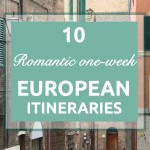 10 romantic one-week European itineraries