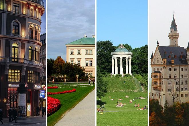 Vienna Salzburg Munich and Neu