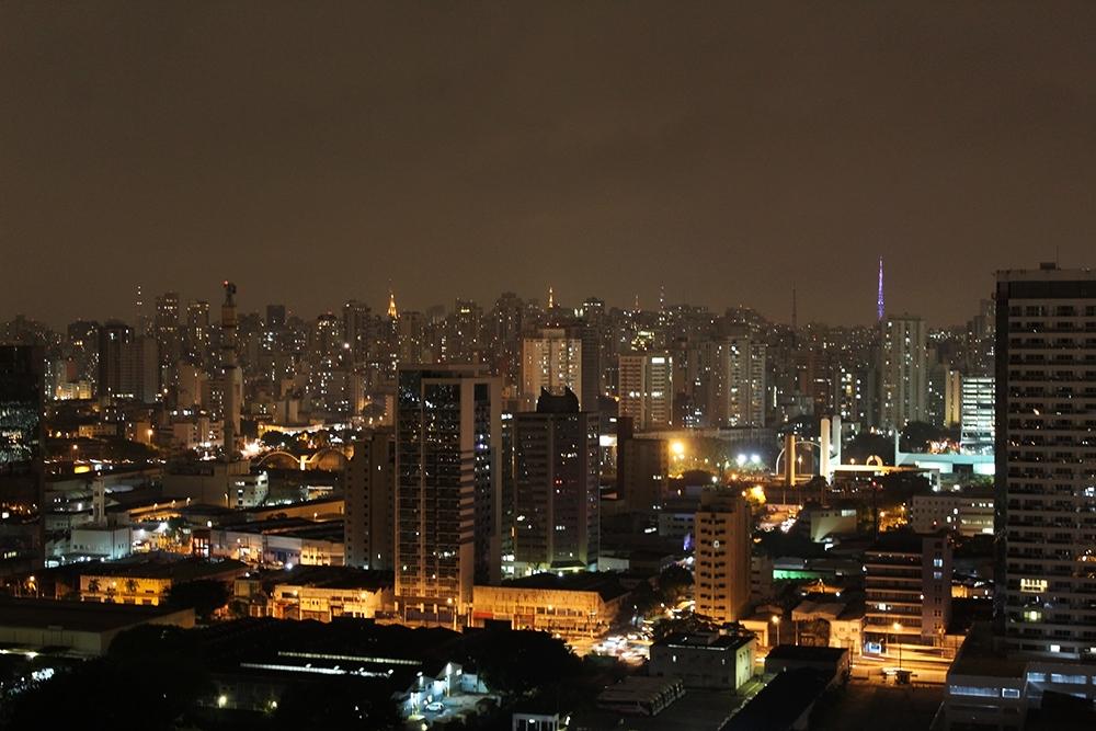 São Paulo, Brazil at night
