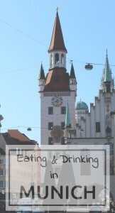 Eating and drinking in Munich