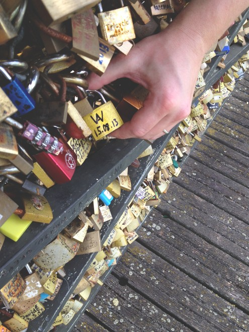 Padlocks in Paris
