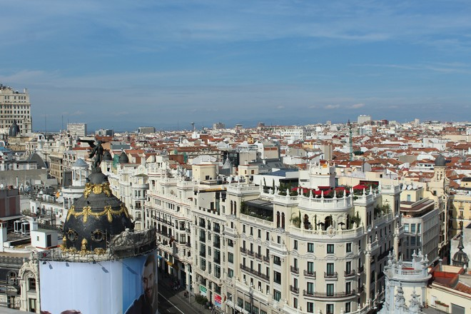 Madrid from Above