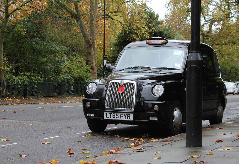 Taxi in London