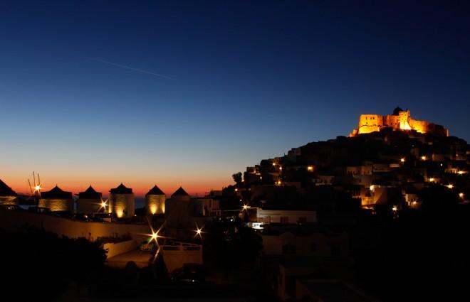 Sunrise in Astypalea, Greece