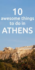 Awesome things to do in Athens