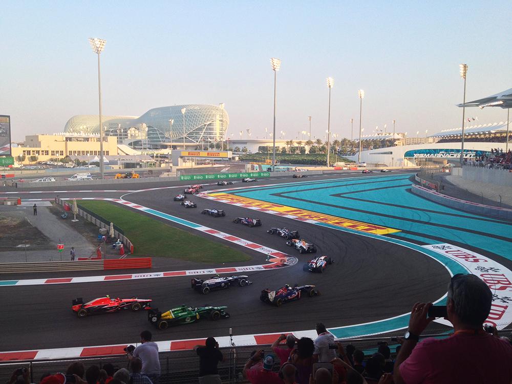 Formula 1 Grand Prix in Abu Dhabi