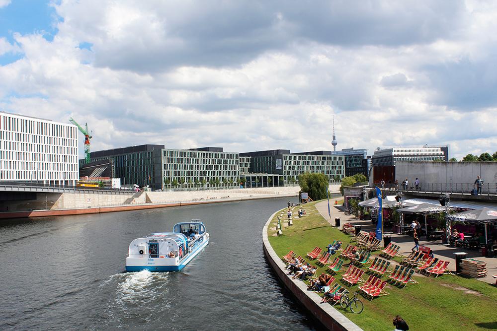 Boat tour, Berlin