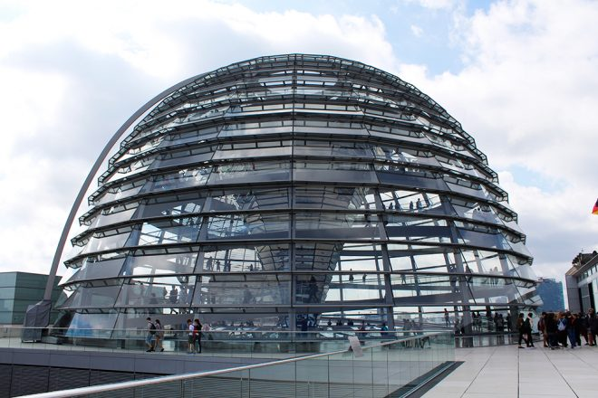 The Reichstag dome, Berlin