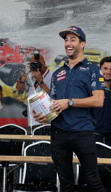 Daniel Ricciardo in Hockenheim 2016