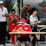 Autograph session Formula 1 drivers in Hockenheim 2016