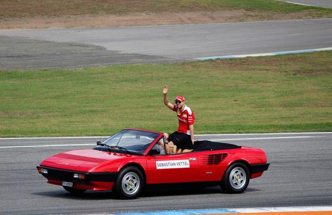 Sebastian Vettel Hockenheim 2016