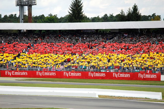 Formula 1 Grand Prix in Hockenheim 2016