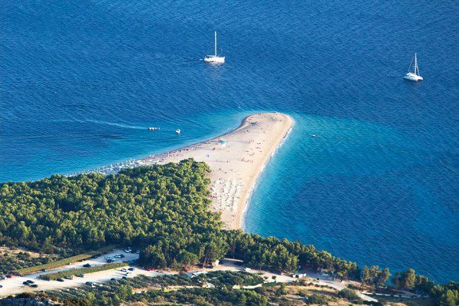 Zlatni Rat beach, Croatia