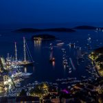 Hvar at night, Croatia
