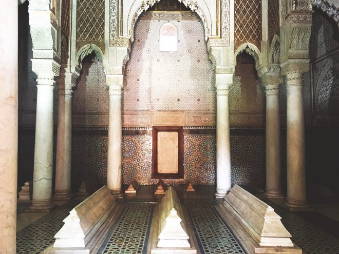 Tombeaux Saadien, Marrakech