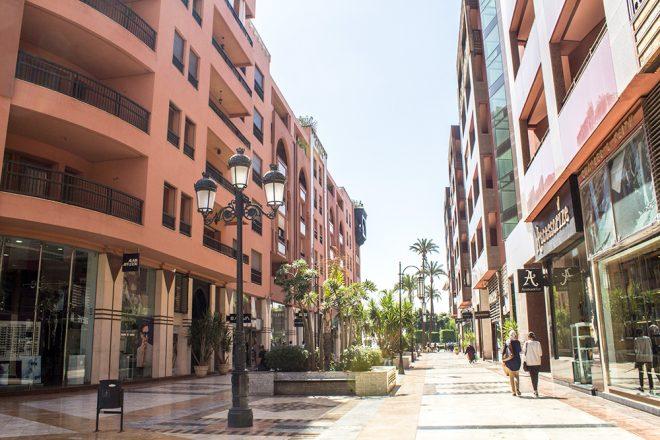 Guéliz, Marrakech, Morocco