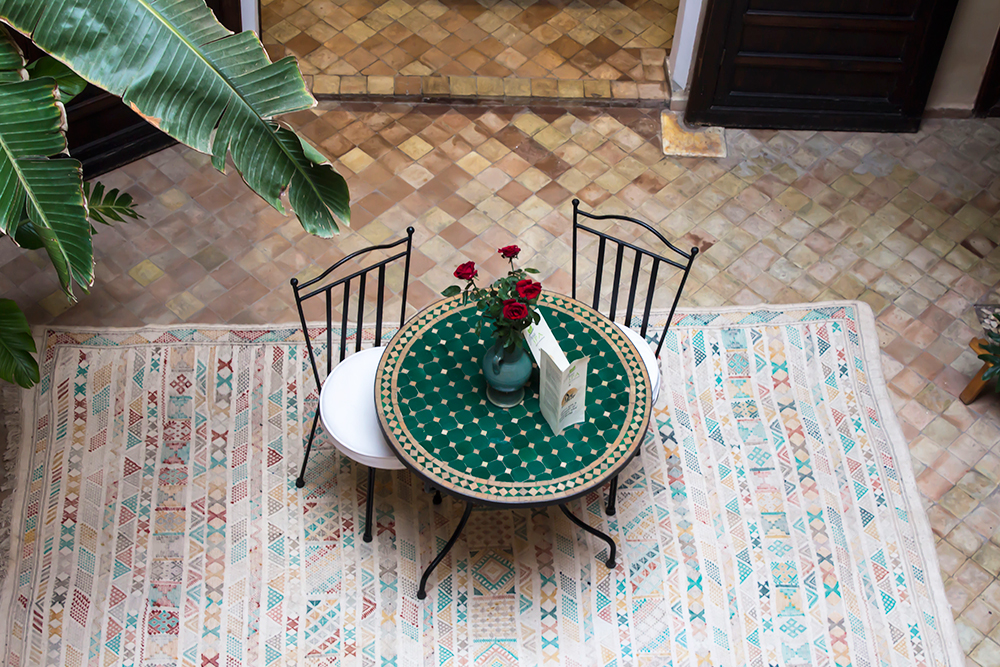 Staying in Marrakech at Riad Dar Alif