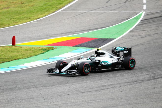 Nico Rosberg Hockenheim 2016