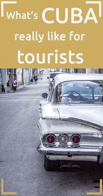 Cuba for tourists