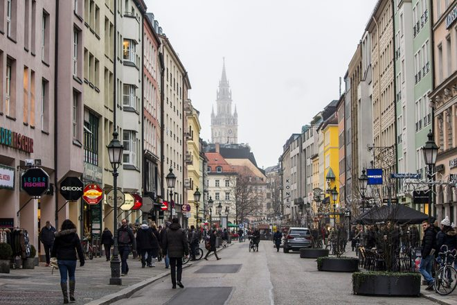 Street in Munich