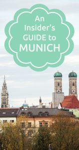 An insider's guide to Munich