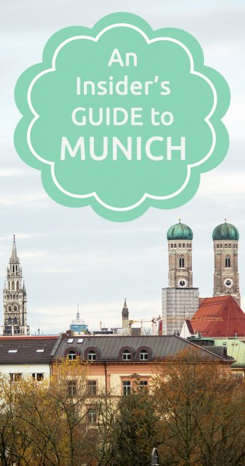 An insider's guide to Munich