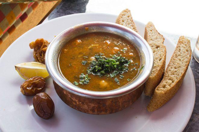 Harira soup, Morocco