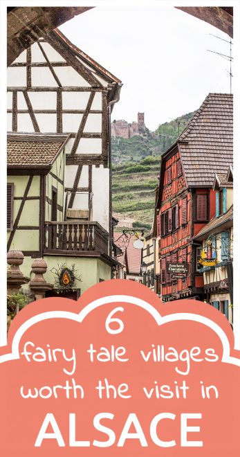 Fairy tale villages in Alsace