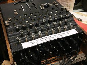 Enigma, museum Diekirch, Luxembourg
