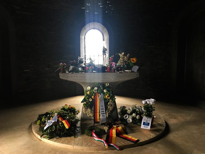 German cemetery near Bastogne, Belgium