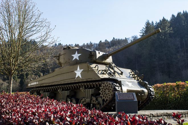 American Tank, Clervaux, Luxembourg
