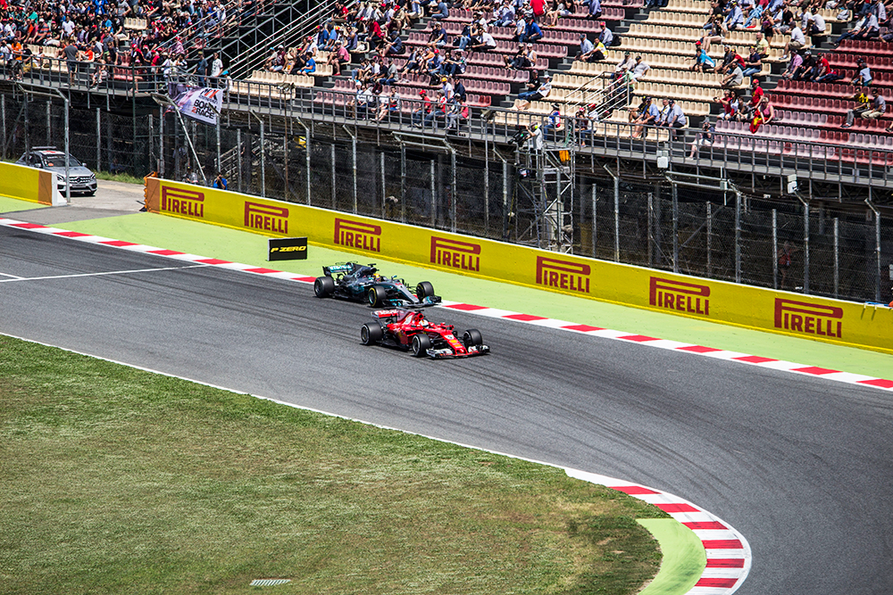 Formula 1 Grand Prix in Barcelona 2017