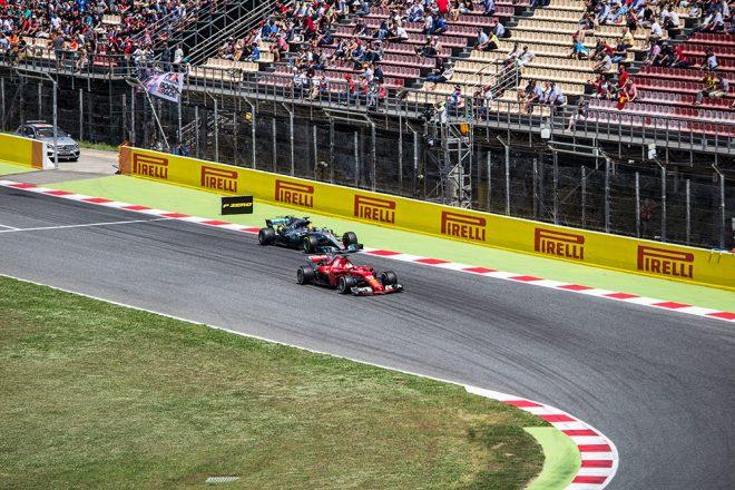 Formula 1 Grand Prix in Barcelona 2017
