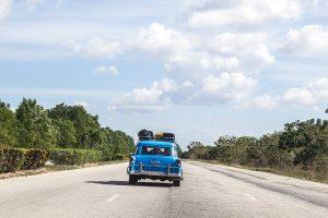 Old car Cuba