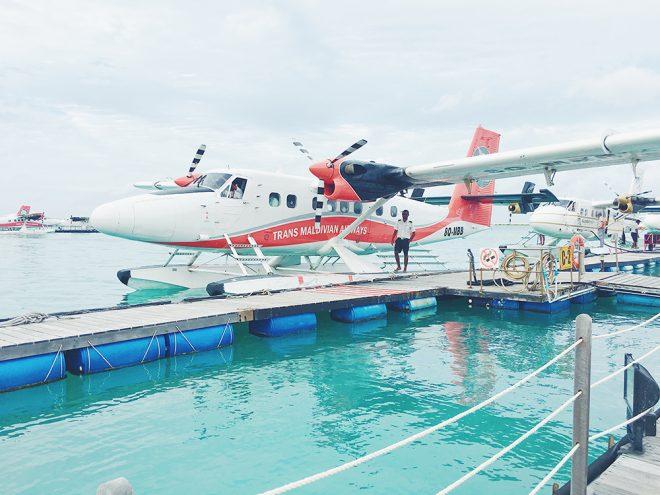 Seaplane, Maldives