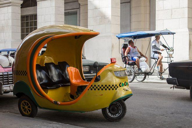 Coco Taxi, Havana, Cuba