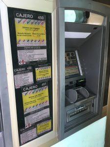 ATM in Havana