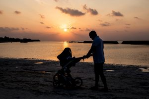 Maldives with a baby