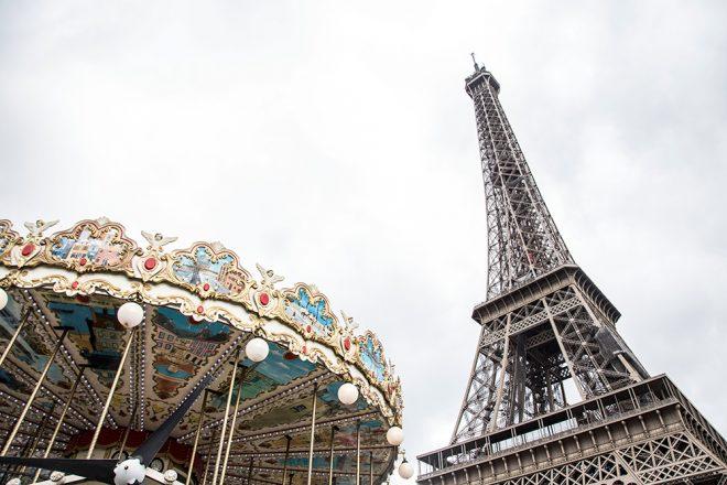 Eiffel Tower and Carroussel, Paris