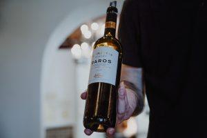 Wine tasting in Paros, Greece