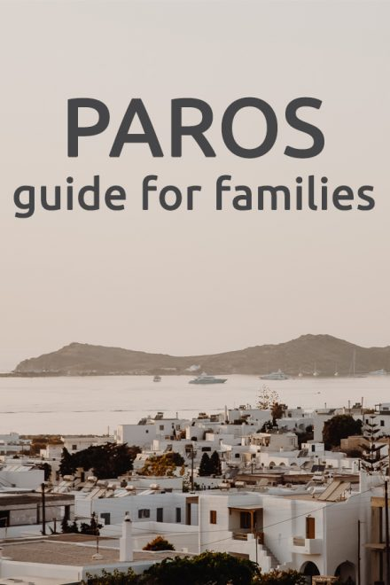 Paros Guide for Families