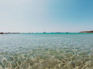 Aliki beach, Paros, Greece