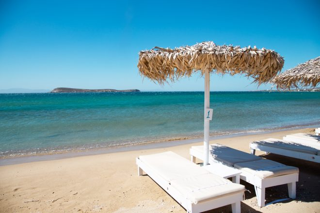 Golden Beach, Paros, Greece