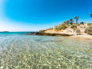Boudari Beach, Paros, Greece